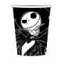 Halloween Tim Burton's Nightmare Before Christmas Paper Cups 266ml Pack of 8
