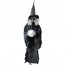 Halloween Party Decorations - Animatronic Standing Witch