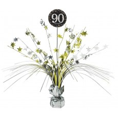 90th Birthday Sparkling Celebration Spray Centrepiece