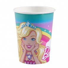 Barbie Dreamtopia Paper Cups 266ml Pack of 8