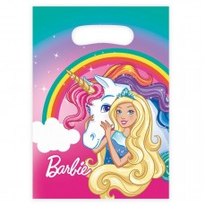 Barbie Dreamtopia Loot Favour Bags 2.5cm Pack of 8