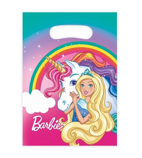 Barbie Dreamtopia Loot Favour Bags 2.5cm Pack of 8