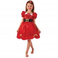 Christmas Miss Santa Child Costume Medium