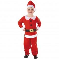 Christmas Mr Santa Child Costume Small