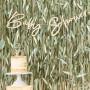 Botanical Baby Bunting Baby Shower Banner 2m