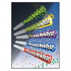 Glow in the Dark Happy New Year Horn