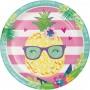 Pineapple N Friends Dinner Plates Pack of 8
