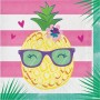 Pineapple N Friends Lunch Napkins Pack of 16