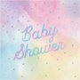 Iridescent Baby Shower - General Lunch Napkins Pack of 16