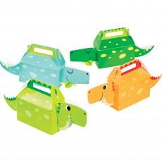 Dinosaur Boy Dino Decor Treat Favour Boxes 6cm x 31cm x 13cm Pack of 4