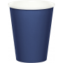 Navy Blue Hot & Cold Paper Cups 266ml Pack of 24