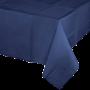 Navy Blue Tissue & Plastic back Table Cover 137cm x 274cm