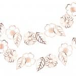 Ditsy Floral Garland 3m x 6cm