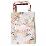 Hens Night Floral Team Bride Favour Bags 24cm x 35cm Pack of 5