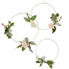 Wedding Party Decorations - Gold Wedding Hoops