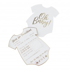 Oh Baby! Advice Cards Party Games Pack of 10