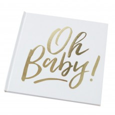 Oh Baby! Guest Keepsake Books 20.5cm x 21cm x 1.3cm Pack of 32