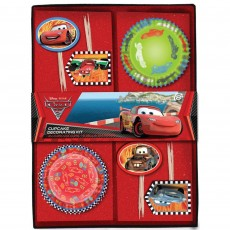 Disney Cars 2 Picks & Cupcake Cases Pack of 48
