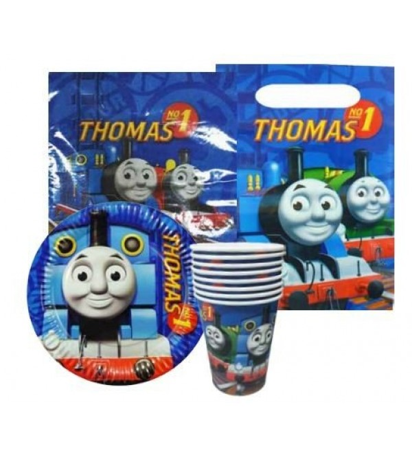 Thomas & Friends Party Packs For 8 Guests 40 Items