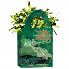 Camouflage Tote Balloon Weight 14cm x 4cm x 7.5cm