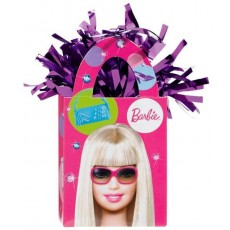 Barbie All Doll'd Up Tote Balloon Weight 14cm x 4cm x 7.5cm