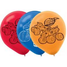 Teardrop Blaze & The Monster Machines Latex Balloons 30cm Pack of 6