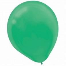 Teardrop Festive Green Latex Balloons 30cm Pack of 15