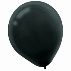 Black Latex Balloons 30cm Pack of 15