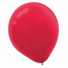Teardrop Apple Red Latex Balloons 30cm Pack of 15