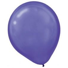 Teardrop Pearl New Purple Latex Balloons 30cm Pack of 15
