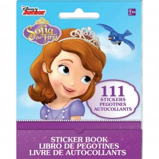 Sofia The First Favours Stickers Book Single Kit