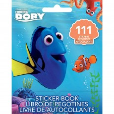 Finding Dory Favours Stickers Book Single Kit