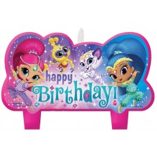 Shimmer & Shine Mini Moulded Set Candles Pack of 4