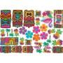 Hawaiian Tiki Mega Value Pack Assortment Cutouts Pack of 30
