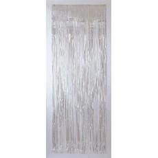 Iridescent Door Decorations 2.4m x 91.4cm Metallic Curtain