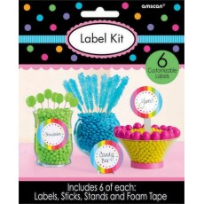 Multi Coloured Label Kit for Containers Misc Accessory