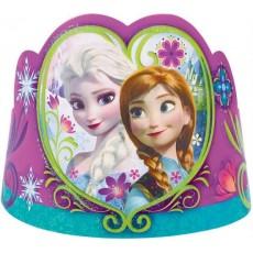 Disney Frozen Paper Tiaras Pack of 8