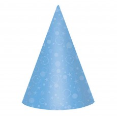 Bright Multi Coloured Cone Party Hats 17cm Pack of 24