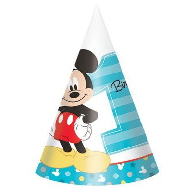 Boy Mickey Mouse 1st Birthday Party Supplies And Decorations Australia