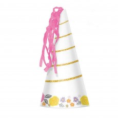 Magical Unicorn Horn Party Hats Pack of 8