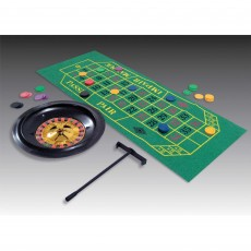 Casino Night Place Your Bets Roulette Wheel Party Game