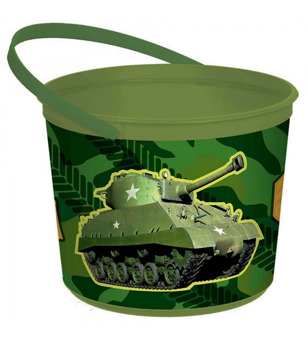 Camouflage Container Favour Box 13cm x 16cm