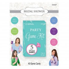 Bridal Shower Party Games Kit