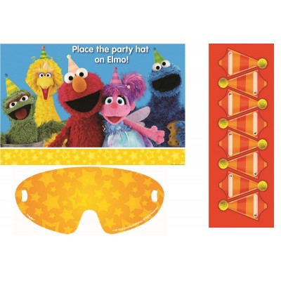 e4837adff5c6f Sesame Street Party Games For 8 Players Place the Hat on Elmo.  6.44