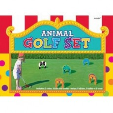 Happy Birthday Party Games Animal Golf