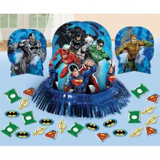 Justice League Decorating Kits Table Decorations