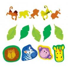 Jungle Animals Confetti 34g Single Pack