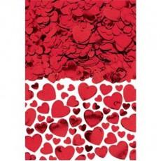 Heart Red Confetti 70g