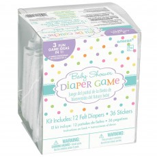 Baby Shower - General Party Games Diaper