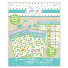 Baby Shower - General Party Games For 14 Players Bingo